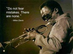 Miles Davis #quotes #jazz - www.jaxsprats.com