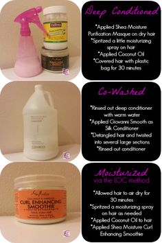 Breaking down a sample conditioning and moisture routine for natural hair. - Breaking down a sample conditioning and moisture routine for natural hair. Best Natural Hair Products, Natural Hair Regimen, Natural Hair Tips, Natural Hair Growth, Natural Hair Journey, Natural Hair Styles, 4c Hair Products, Relaxed Hair Regimen, Relaxed Hair Journey