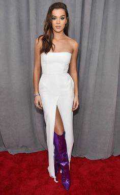 Grammy Awards 2018 Best Dressed on the Red Carpet at the Grammys - Hailee Steinfeld in Alexandre Vauthier