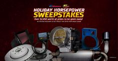 Over $2,450 worth of prizes to be given away! No Purchase Necessary! Join Now! Enter To Win, I Win, Online Contest, Online Sweepstakes, Jet, Atv Parts, Holiday, Christmas, Giveaways