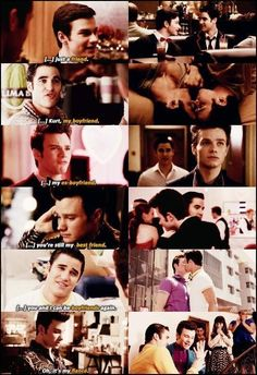 """The story of Klaine…and I can't wait for the day when they can call each other """"husband""""..."""