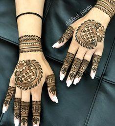 Indian Henna Designs, Latest Arabic Mehndi Designs, Finger Henna Designs, Henna Art Designs, Mehndi Designs For Girls, Modern Mehndi Designs, Dulhan Mehndi Designs, Mehndi Design Photos, Wedding Mehndi Designs