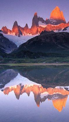 Mount Fitzroy, Los Glaciares National Park, Patagonian Andes    2012