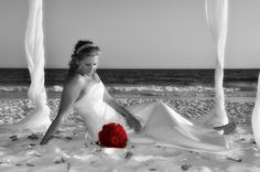 Chic beach wedding SunHippie Weddings - 850-737-0469