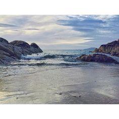 Loving these long evenings! #summer #sea #waves by _merkus_