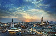 Sunset in Vienna by starscream 0122 #Casamigos
