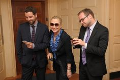 Texting with Secretary Hillary Clinton.  (Proof of her submission.) (via: Stacy & Adam)