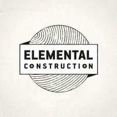 emblem Elemental Construction Logo