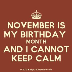 Happy birthday to the November girls :)