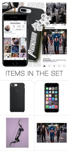 """I'm going back to sleep // clint barton // haweye"" by iitselizabeth ❤ liked on Polyvore featuring art, thefcb and heroproblems"