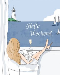 Hello Weekend - Rose Hill Designs