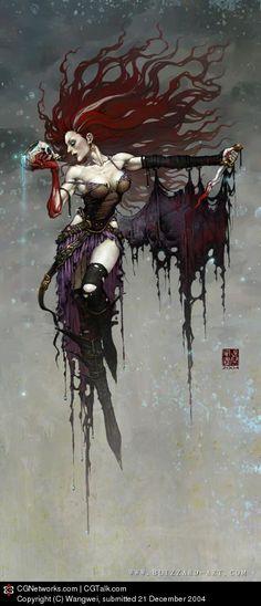 Witch, Wangwei