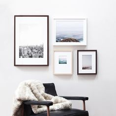 Touting museum-like quality, the Gallery Frame brings your photo to life on premium archival paper with an ultra thick mat. Choose from an array of frame sizes and sophisticated mat cuts plus your choice of finish color – including matte black, white, maple or walnut hardwood. <br><br>Arrives to your doorstep fully finished and ready to hang.