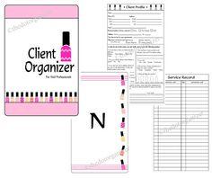 Técnico/manicurista cliente organizador de por TotallyOrganized