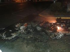 Amparo♥ Ramirez @AmparoR72  11 min Así deja la Gnb a varias motos de los manifestantes @fdelrinconCNN @liliantintori @MariaCorinaYA Coloncito-Táchira. pic.twitter.com/NVtd4MhR0R