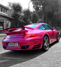 Pink Porsche #CarFlash #FightBreastCancer