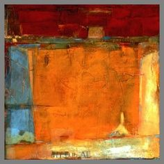 Love this palette of colors and texture.    C.W. Slade - Origins 2