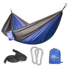 Intelligent Portable 1-2 Person Outdoor Hammock Camping Hanging Sleeping Bed With Mosquito Net Garden Swing Relaxing Parachute Hammock Fragrant Aroma Sports & Entertainment Camping & Hiking