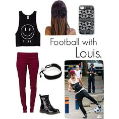 """""""Football with Louis"""" by linsie-bussell on Polyvore"""