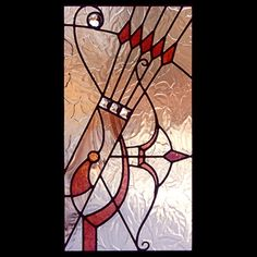 Zodiac stained glass patterns: Sagittarius