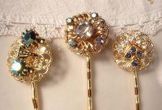 Vintage Hair Pins on Etsy