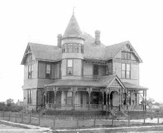 1894 Queen Anne designed by Architect George F. Barber located at: 603 W Bonham St, Ladonia, TX