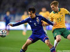 Shinji Okazaki - FW - #9 KIRIN CHALLENGE CUP Japan vs. Australia #Soccer