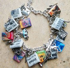 The ULTIMATE HARRYPOTTER Books Fringe Charm by sophiesbeads (absolutely ADORE this bracelet!!! from Sophiebeads on Etsy
