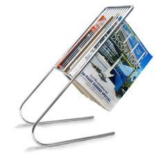 Floating Magazine Rack