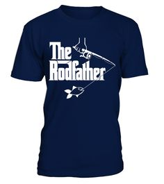 The Rodfather funny T-shirt  #gift #idea #shirt #image #funny #fishingshirt #mother #father #lovefishing