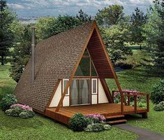 An A-Frame for Every Environment - 57205HA | Vacation, Narrow Lot, 1st Floor Master Suite, Loft, PDF | Architectural Designs