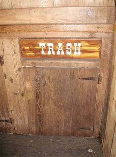 Have you ever spotted this trash area at the Magic Kingdom's version of Big Thunder Mountain Railroad? Look for it on your next visit!