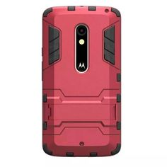 e05c0147c11 Hybrid Dual Heavy Duty Armor Stand Case For Motorola Moto X Play Case XT1563  Back Cover