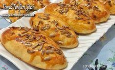 Kremalı Poğaça Tarifi Hot Dog Buns, Hot Dogs, Cheesesteak, Ethnic Recipes, Foods, Drinks, Food Food, Drinking, Food Items
