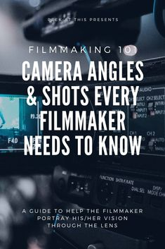 Are you a filmmaker just starting out in the filmmaking world and want to learn the basics of camera angles and shots? Camera Angles & Shots Filmmakers Need To Know | Peek At This #filmmaking #filmmakinglife #indiefilmmaking #filmmakingtips #filmmaking101 #filmmakinglifestyle