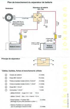 12V/ 240V Camper Wiring Diagram VW camper Pinterest