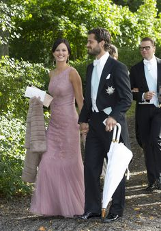 София Хеллквист и принц Карл Филипп