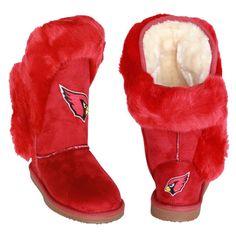 Arizona Cardinals Women's Cuce Official NFL Boots