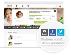purcharity helps you fundraise for adoptions.