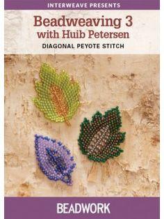 Beadweaving 3 with Huib Petersen: Diagonal Peyote Stitch | InterweaveStore.com