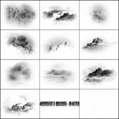10 cloud brush