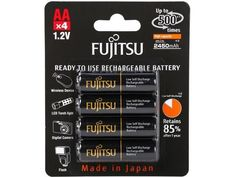 4-Pack Fujitsu AA Ni-MH Pre-Charged Rechargeable Batteries $7.99 (newegg.com)