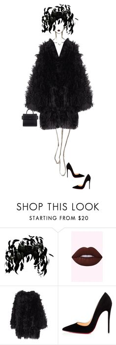 """RAVEN"" by ladygagafashion ❤ liked on Polyvore featuring Jack McConnell, MACKINTOSH, Christian Louboutin and Givenchy"