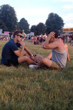 Adam Long and Nico Mirallegro