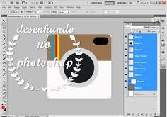 Projeto Mini Album #4 - Processo de criação Photoshop