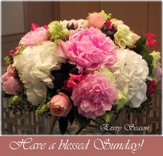 Morning Wish, Sunday Morning, Flower Quotes, Morning Messages, Floral Wreath, Blessed, Inspirational Quotes, Wreaths, Seasons