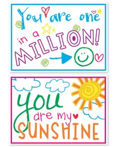 Use these Positive Postcards to let your students (or loved ones) know that you notice them! Click the image to view the Free Download! :)