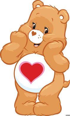 Tenderheart...... My special Care Bear.