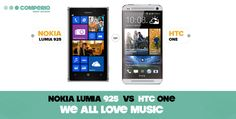 #nokia #htc #lumia925 #htcone #music #comperio