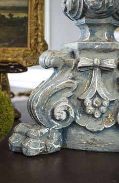 Painted Candlesticks, Candlestick Lamps, Table Lamps, Chandeliers, Chandelier Makeover, Old Candles, Painting Lamps, Gris Rose, Chalk Paint Furniture